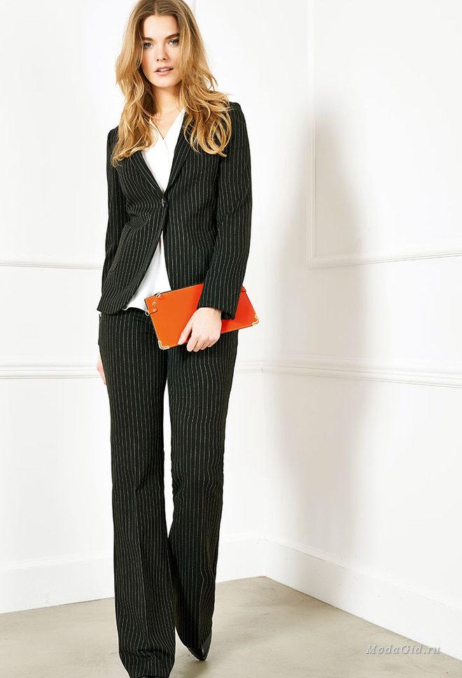 Осенняя одежда для полных женщин 2017