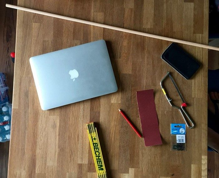 Подставка для ноутбука своими руками из подручного материала