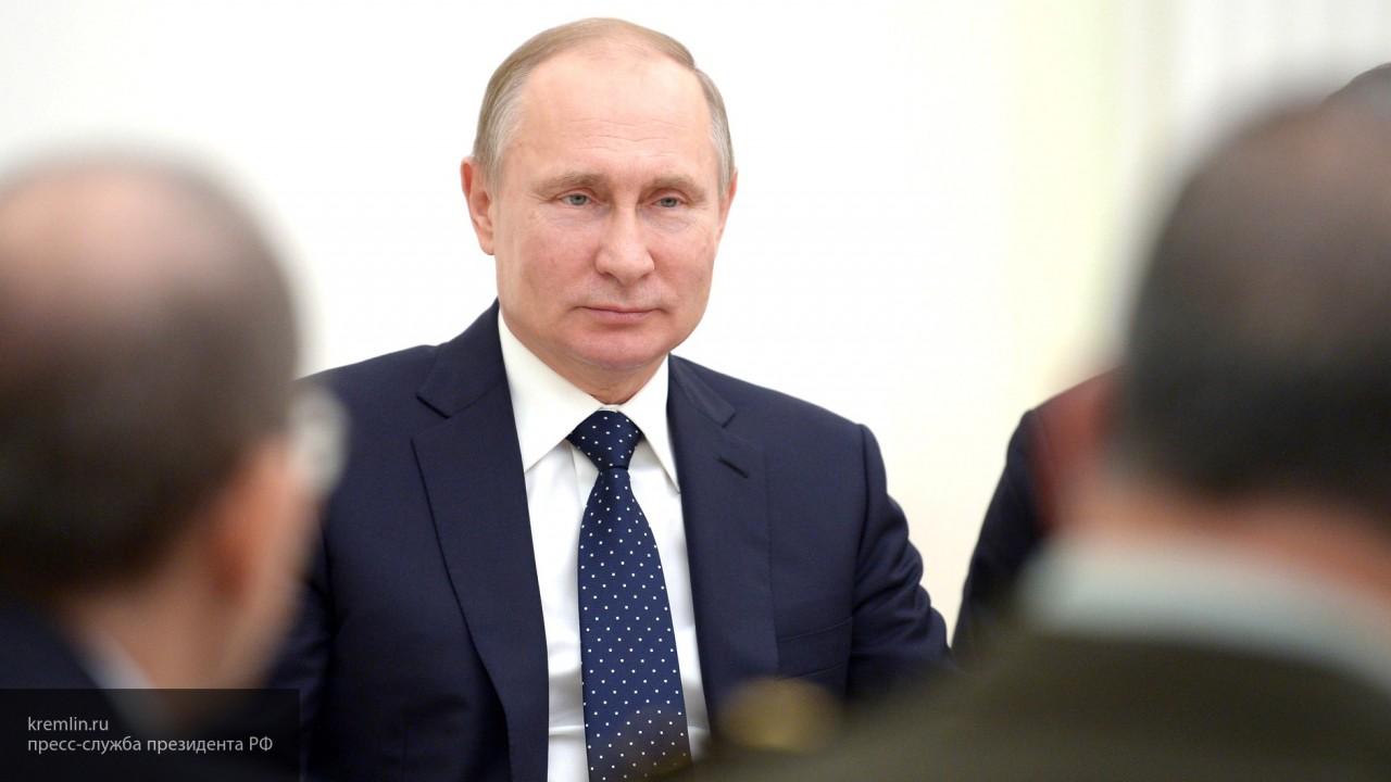Владимир Путин поздравил пре…