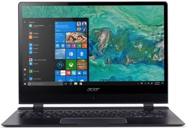 Толщина ноутбука Acer Swift 7 не превышает 9 миллиметров