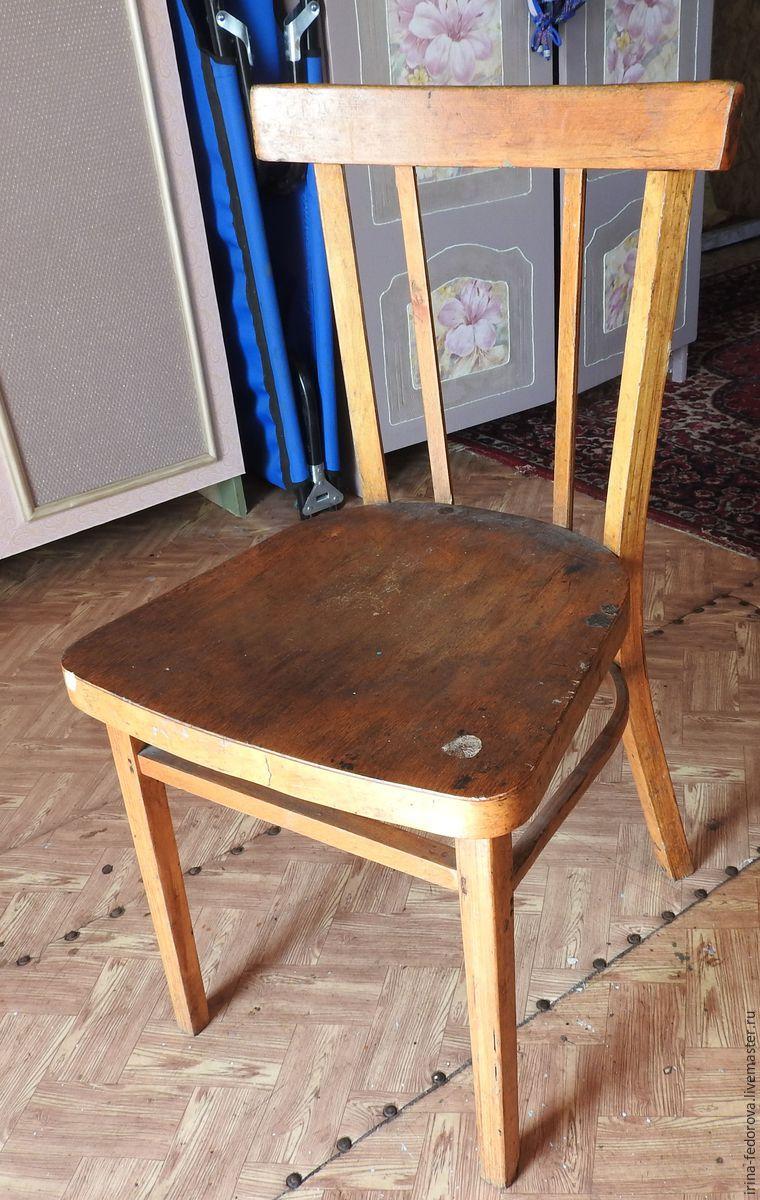 Преображение старого стула