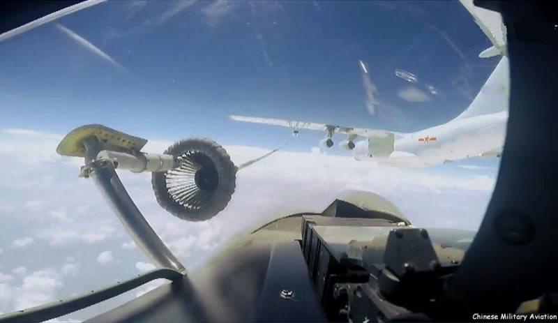 Сложная ситуация с воздушными танкерами ВВС КНР сковывает возможности Пекина в АТР