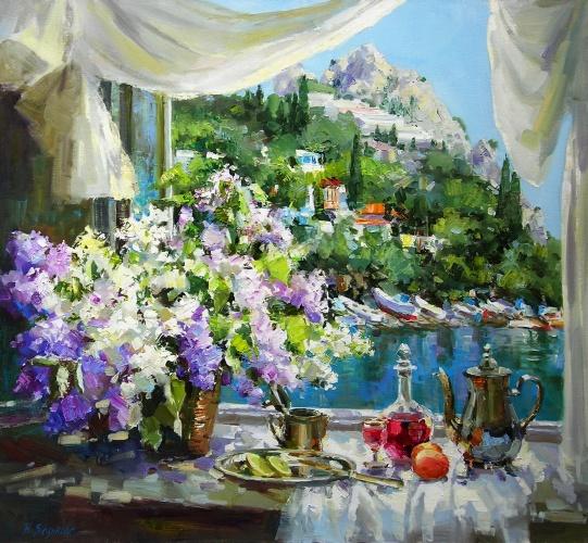 «Красочна крымская красота. В мире палитры богаче нету…» Художница Наталья Зюзькова