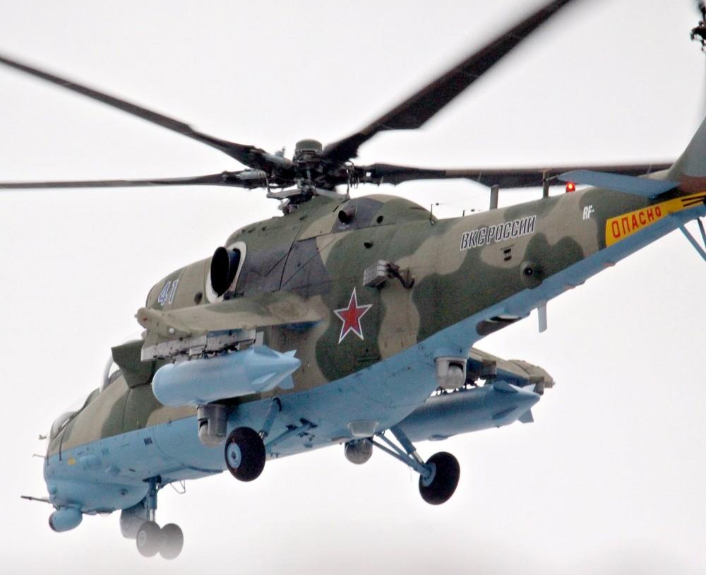 """""""Вертолеты России"""" передали ВКС России четыре новых вертолета Ми-35М и два Ми-28УБ"""