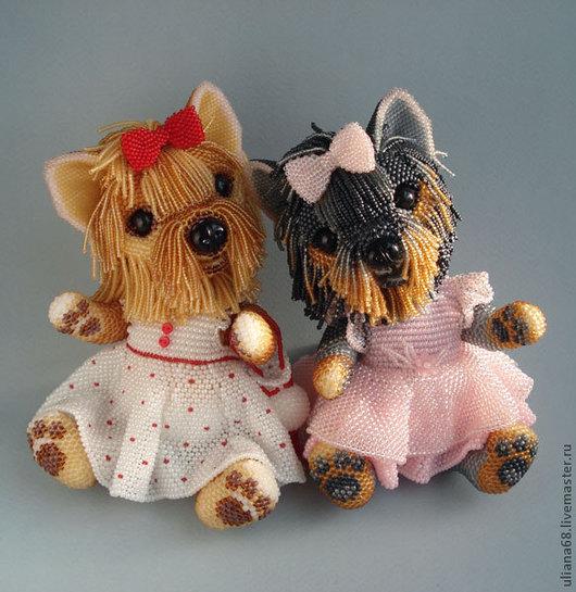 Чудесные бисерные игрушки Ульяны Волховской