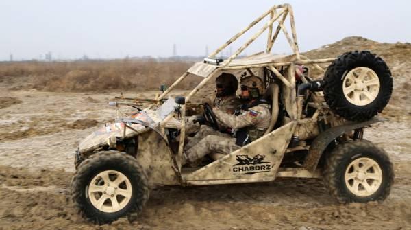 Спецназ России будет гонять по лесам и пустыням на багги «Чаборз»
