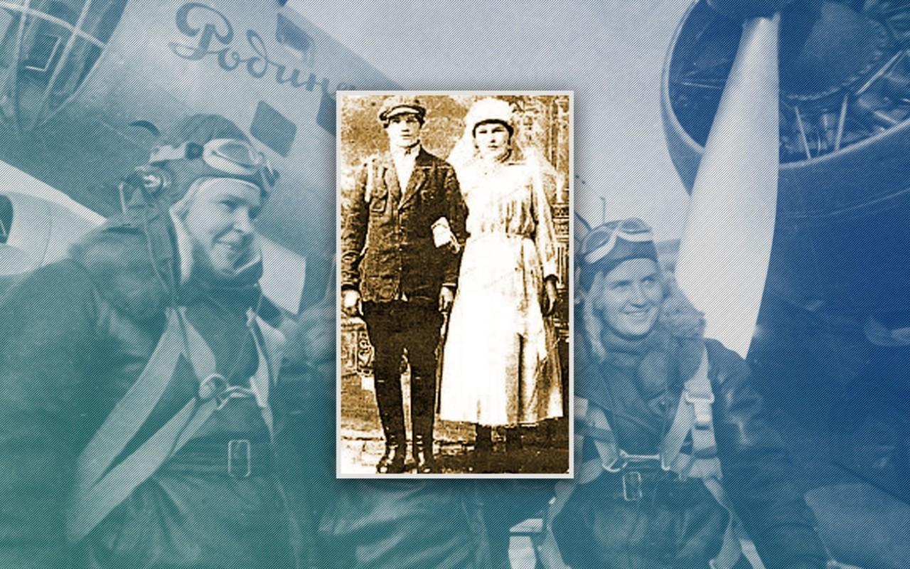 """Ей — """"героя"""", ему — смерть. Как муж лётчицы Осипенко сгнил из-за неё в лагерях"""