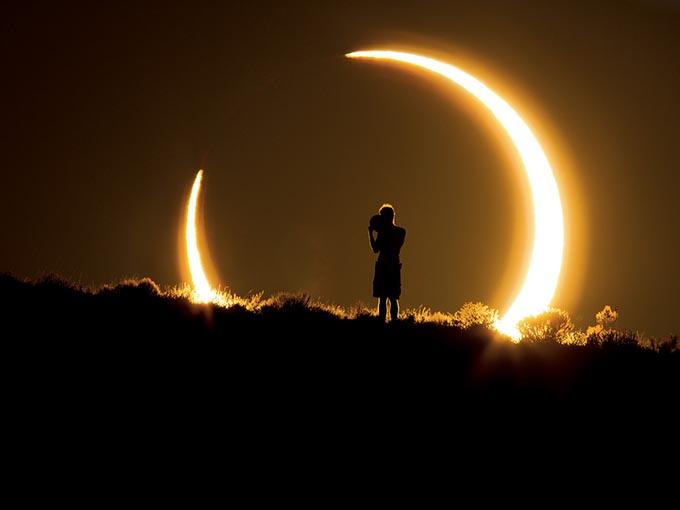 Позитив солнечного затмения