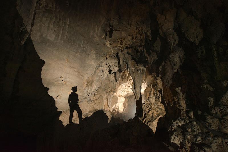 Удивительная пещера в Китае
