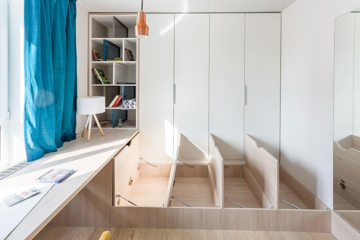 Как и где разместить шкаф, когда катастрофически не хватает места