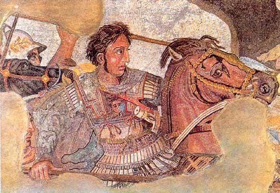 За что воевал Александр Македонский?