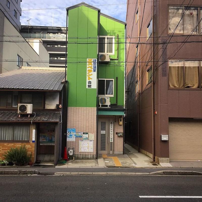 Эсперанто холл - место, где можно выучить эсперанто архитектура, дома, здания, киото, маленькие здания, местный колорит, фото, япония