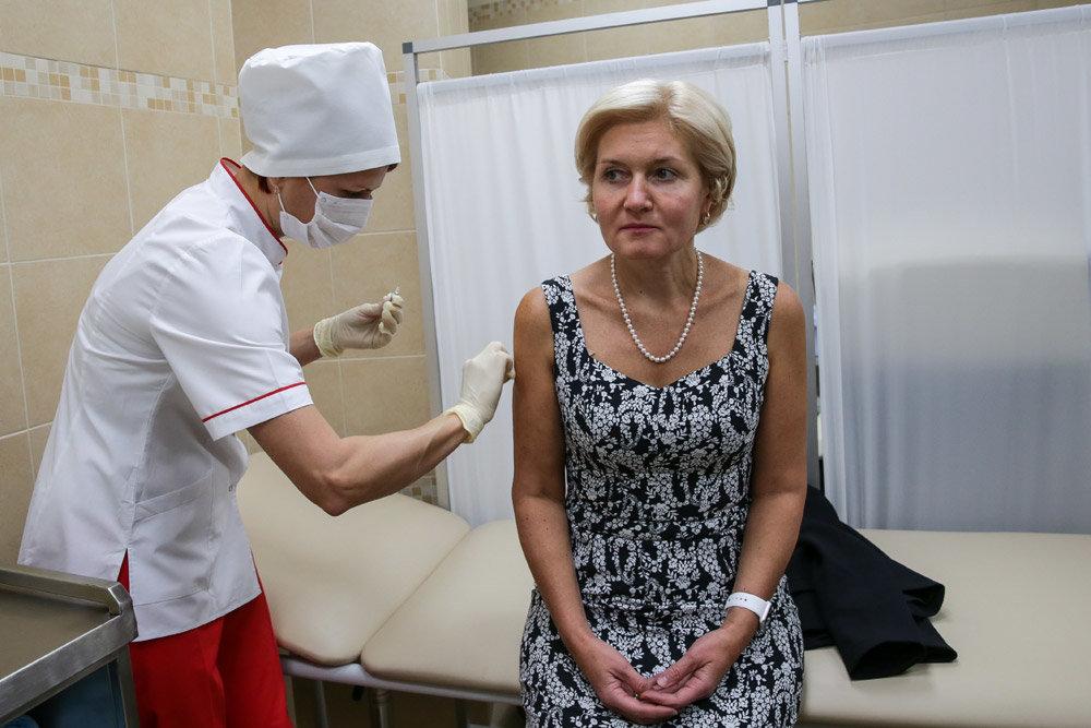 Вакцинация от гриппа продлится до конца ноября