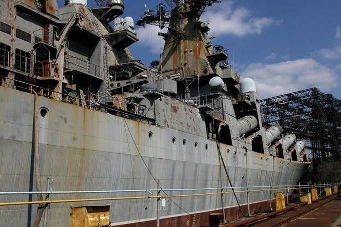 Украинский суперкрейсер будет доминировать в Мировом Океане