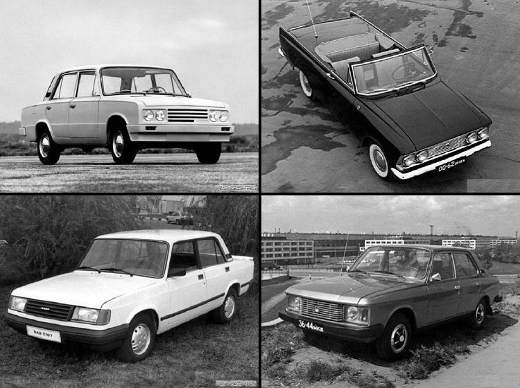 Автомобили СССР, которых мы не видели