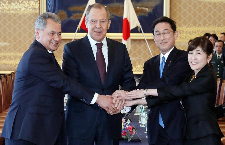 Главы МИД и Минобороны РФ и Японии укрепили доверие и договорились о новой встрече