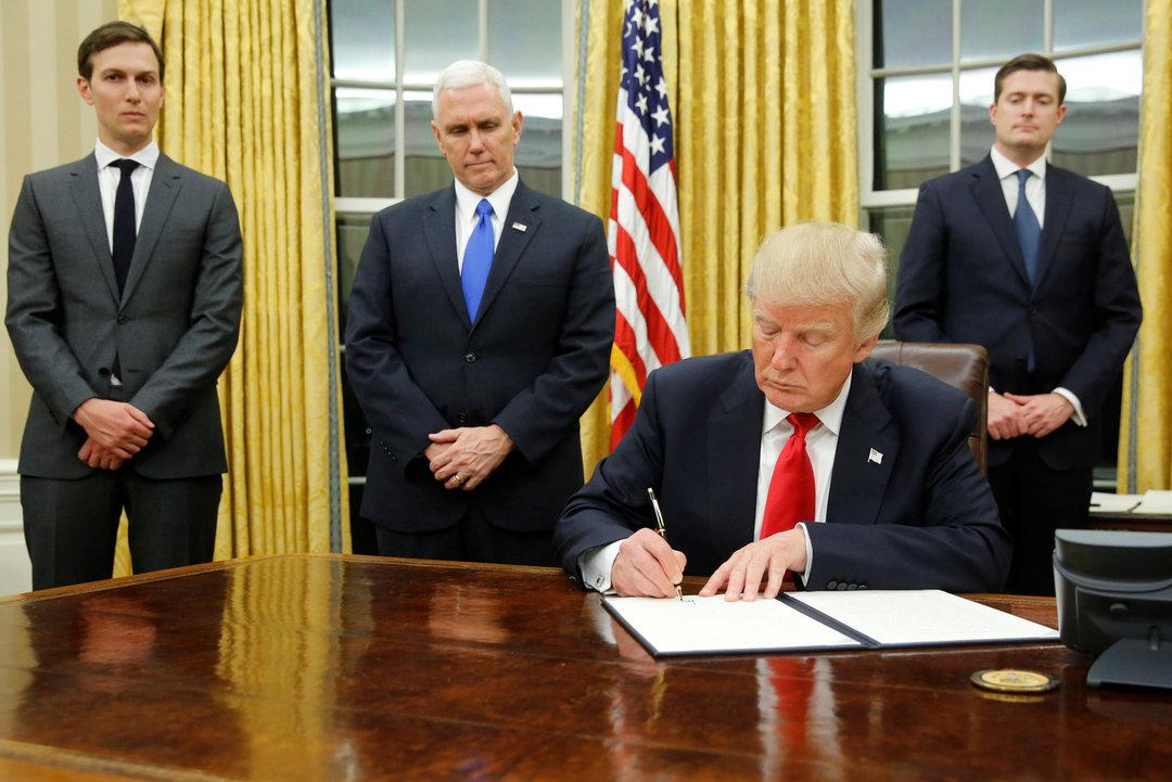 Завтра на подпись Трампу принесут новые антироссийские санкции