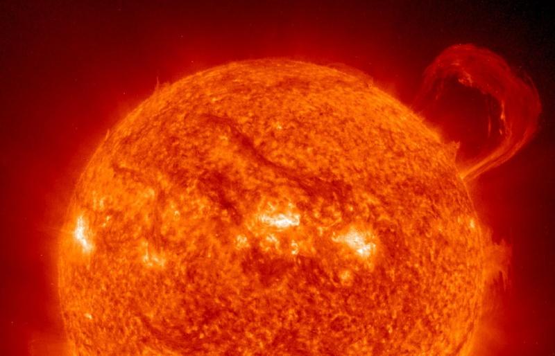 Необычная магнитная буря, вызванная корональной дырой на Солнце