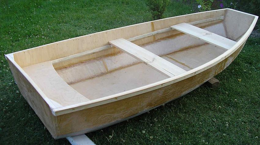 Складная лодка из фанеры