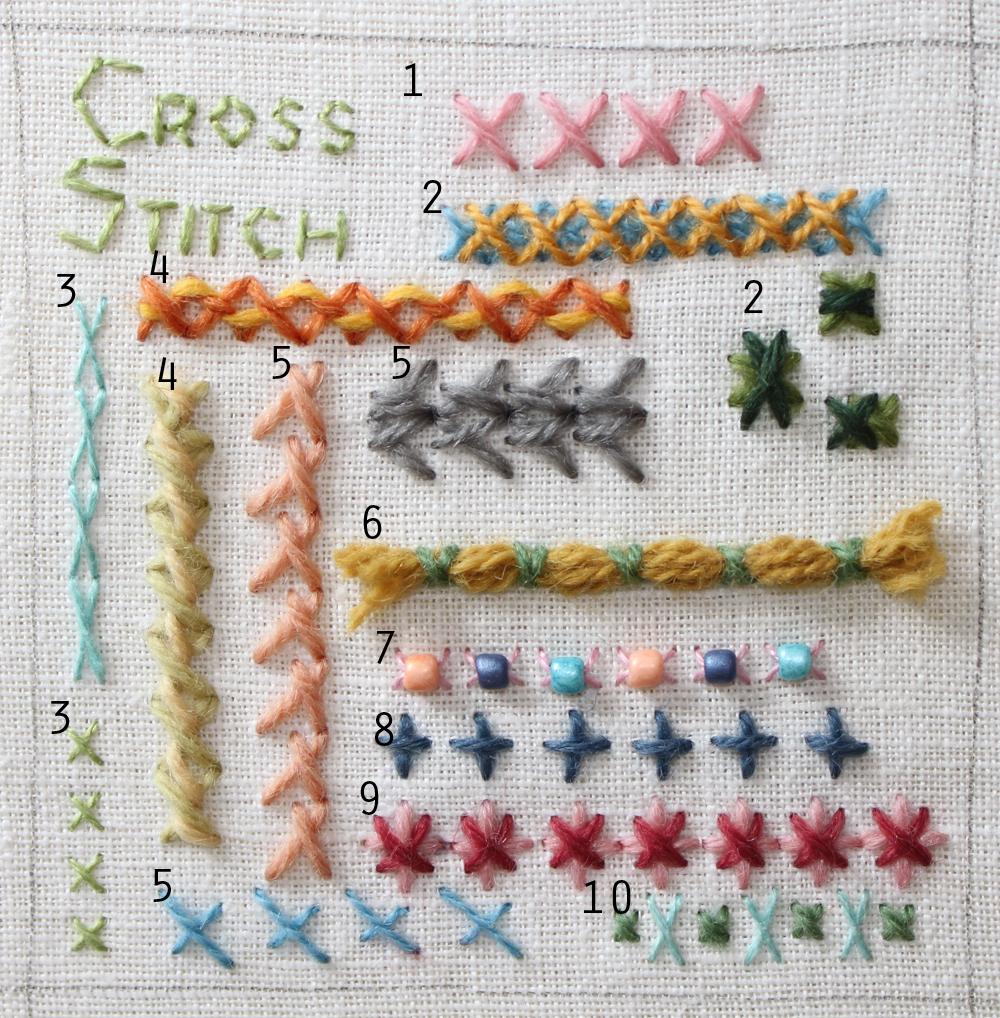 Схема вышивки вручную 68