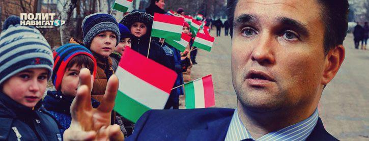 Климкин потребовал от Венгрии отменить акцию «Самоопределение для Закарпатья»