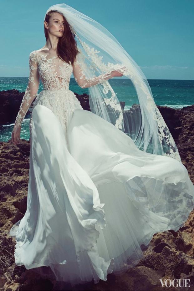 Морская невеста: свадебная коллекция Zuhair Murad