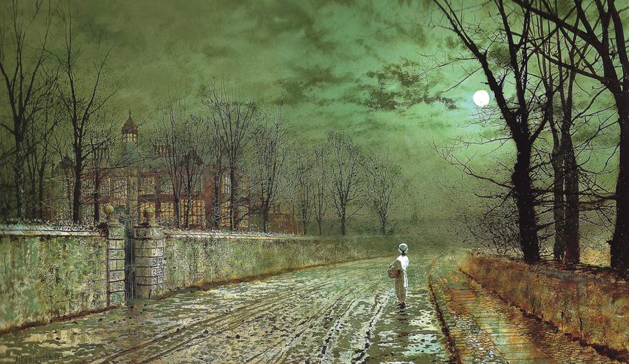Лунный свет. Реалистичные картины художника-викторианца Джона Эткинсона Гримшоу