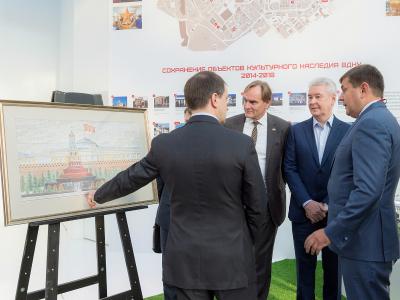 Москва открывает «лицо»