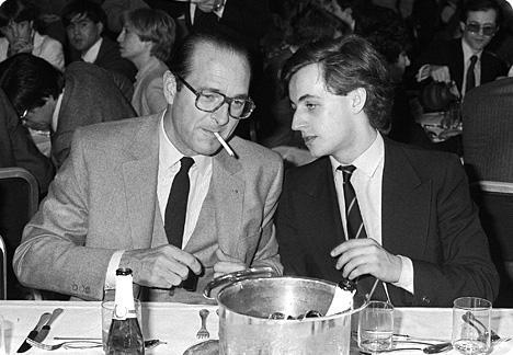 Жак Ширак и Николя Саркози.