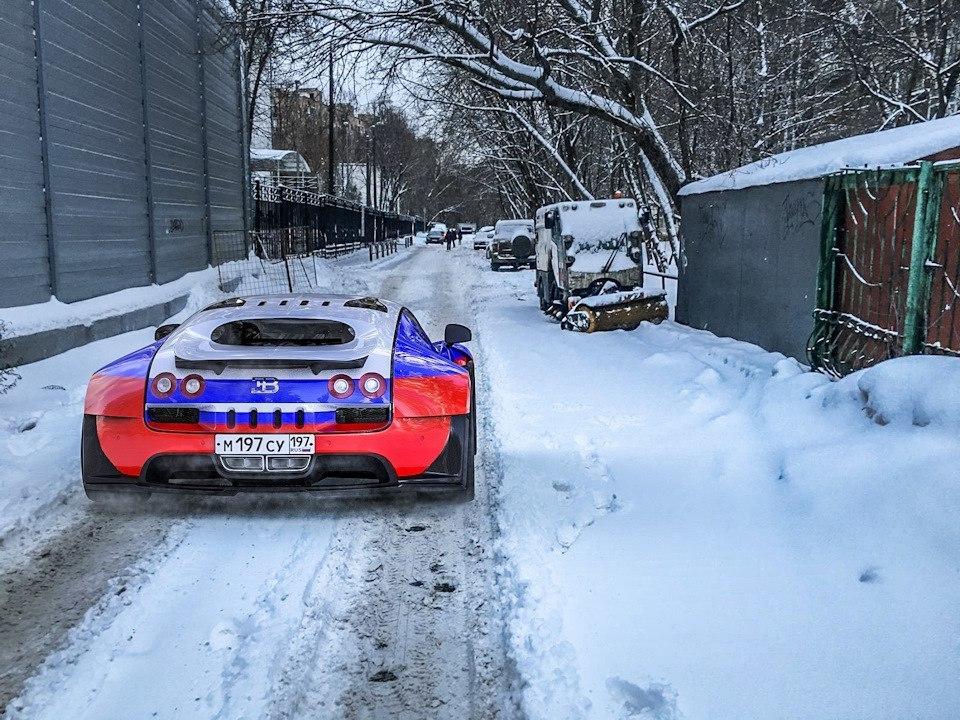 Бугатти в России