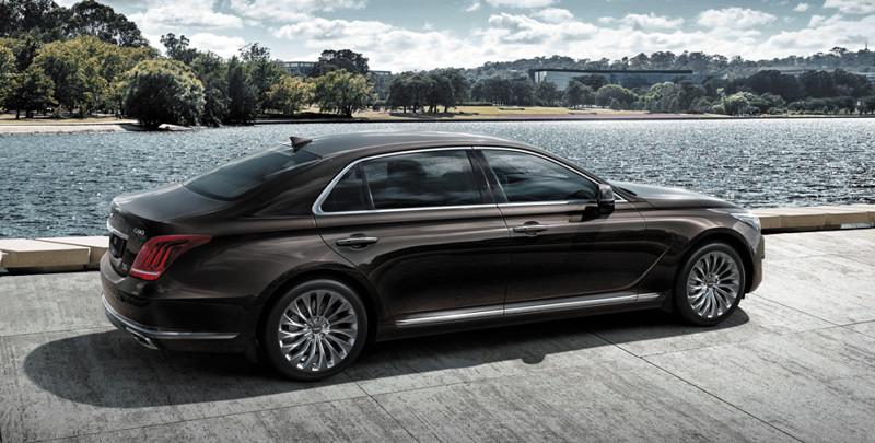 Флагманский Genesis G90 оказался на миллион дороже Экуса