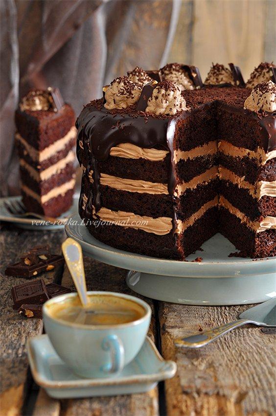 торт с нутеллой рецепт