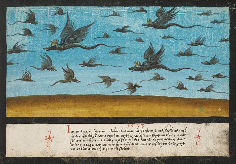 Книга чудес 1550 г : невероятные природные явления средневековья