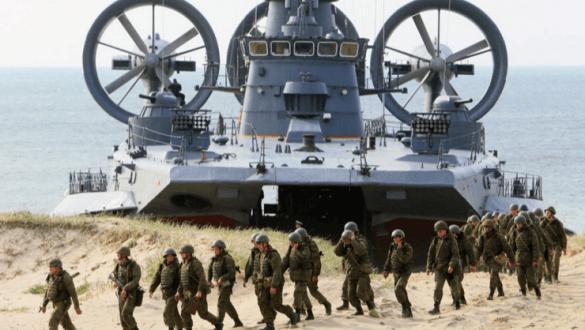 Масштабные учения ВДВ сучастием флота иВКС начались вКрыму