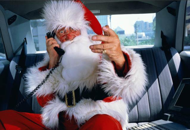 Дозвониться до Деда Мороза