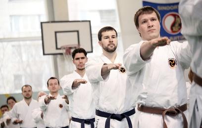 Более 350 спортсменов участвуют в Кубке России по каратэ в Москве