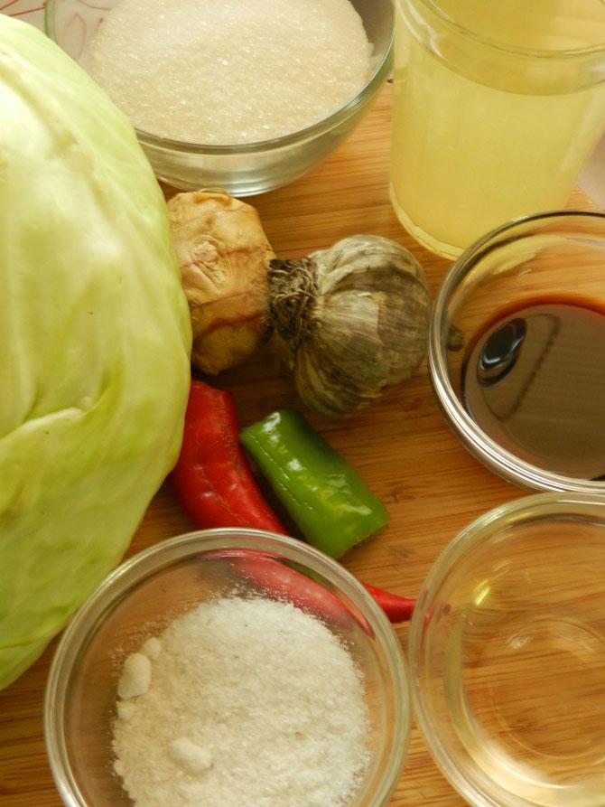Рецепт на выходные: Капуста, маринованная в азиатском стиле