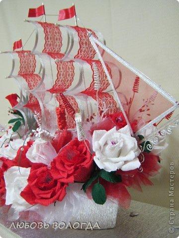 Свит-дизайн День рождения Моделирование конструирование Корабль мечты Бумага гофрированная Продукты пищевые фото 23