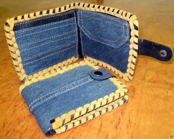 Кошелёк из джинсы