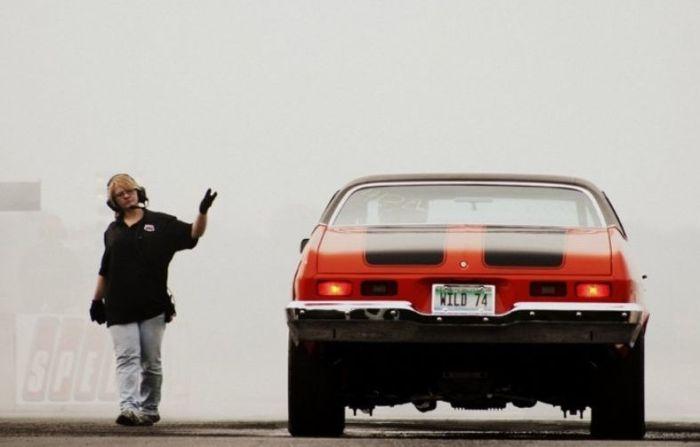 Американская любовь к авто (40 фото)
