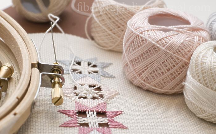 Жемчужина вышивального искусства — вышивка в технике хардангер