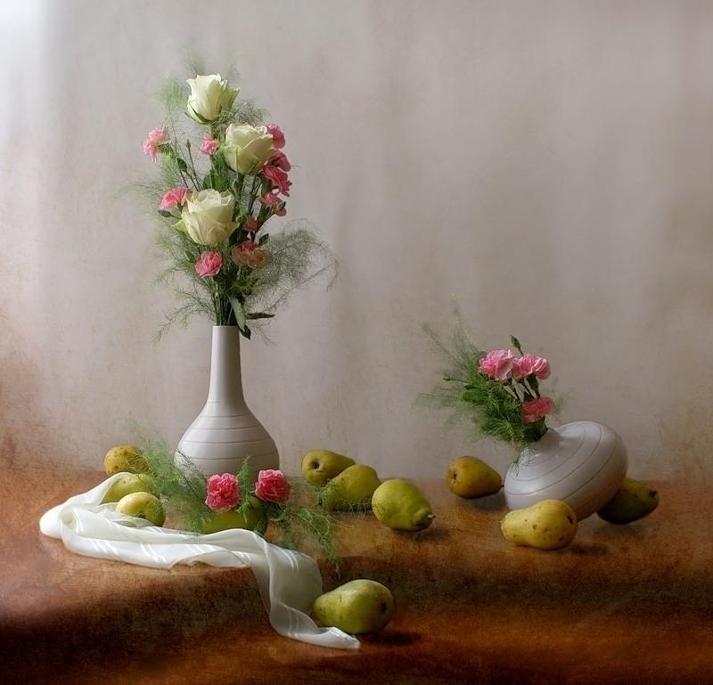 Необычайно нежные натюрморты Марии Бахаревой