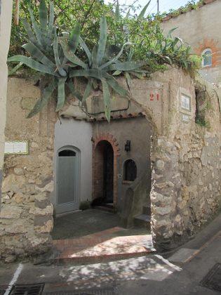 улица острова Капри