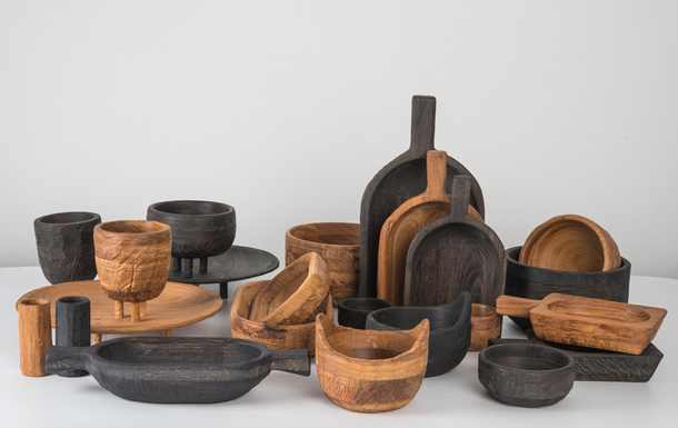Наше русское: деревянная посуда в древнерусском стиле