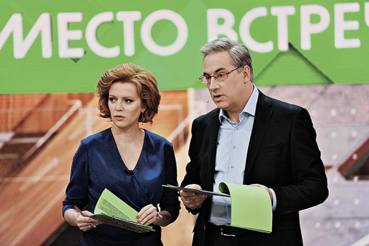 «Пинок под зад» за колорада: Телеведущий предупредил украинских  хамов.