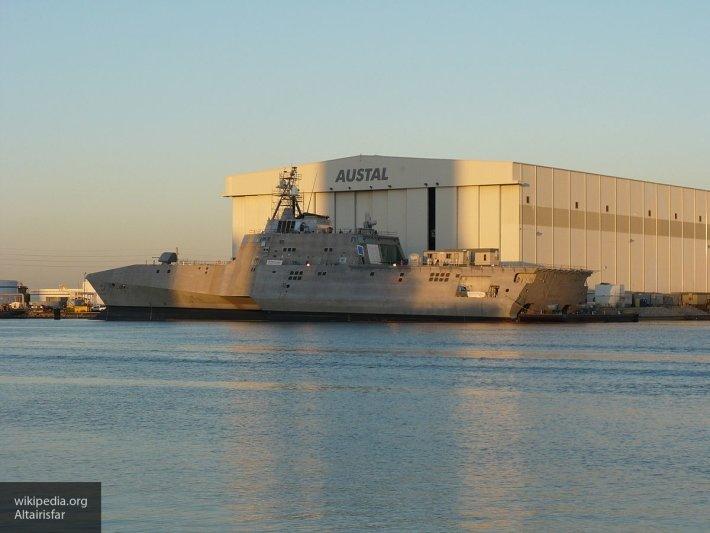 В США ввели в эксплуатацию корабль, на котором установят лазерную пушку
