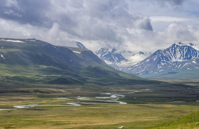 Бертекская котловина, Южный Алтай и Ак-Алаха алтай, путешествия, россия, укок, фото