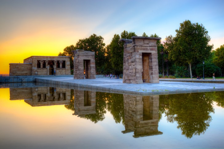 Храм Дебод – древнеегипетское чудо в Мадриде