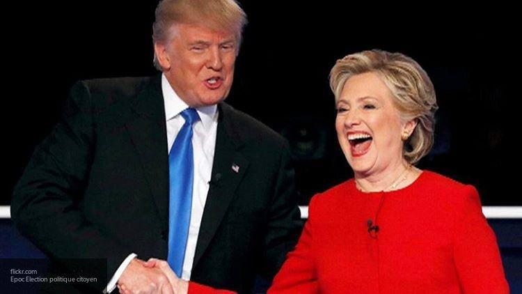 Трамп призвал Клинтон принять участие в выборах президента США в 2020 году