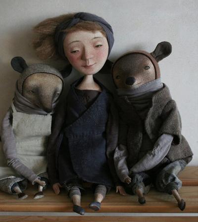 Милые жители севера: забавные и трогательные куклы